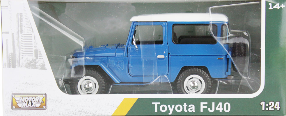 TOYOTA FJ40 - ASSORTED COLORS